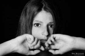 Portrait de Mathilde par Eric Bouloumié Photographe à Bordeaux