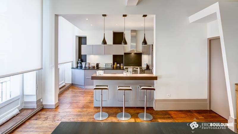 Reportage d 39 architecture dans un appartement bordeaux for Recherche appartement sur bordeaux