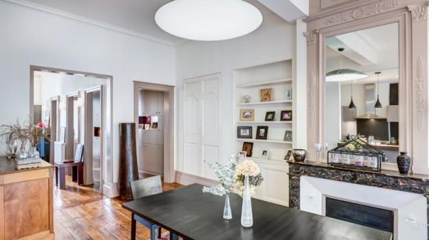 reportage d 39 architecture dans un appartement bordeaux. Black Bedroom Furniture Sets. Home Design Ideas