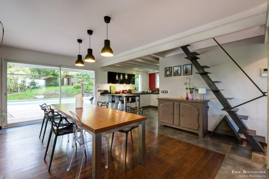 photographie d'un salon réalisée par un photographe professionnel d'architecture