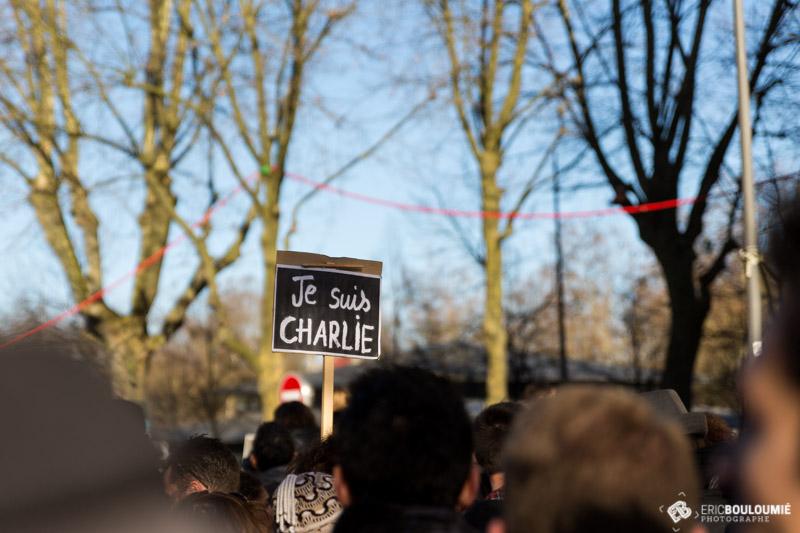 Panneau Je Suis Charlie
