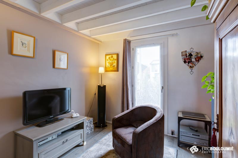 Photographe immobilier : Bureau d'une maison T5 sur canéjan