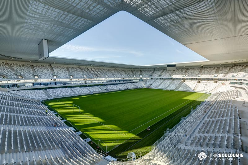 photographe du grand stade de bordeaux
